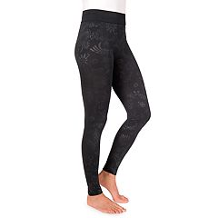 Women's MUK LUKS Embossed Leggings