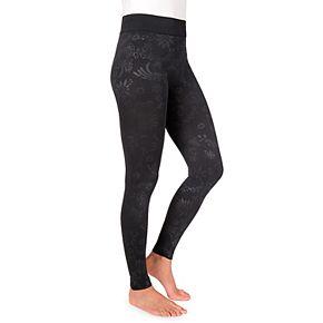 Women's MUK LUKS Embossed Leggings