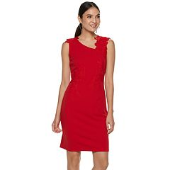 Women's Apt. 9® Lace Applique Sheath Dress