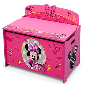 Disney's Minnie Mouse Deluxe Toy Box by Delta Children