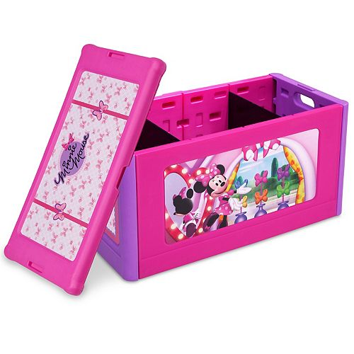 Disney's Minnie Mouse Store and Organize Toy Box by Delta Children