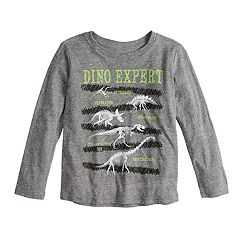 Boys 4-8 Jumping Beans® 'Dino Expert' Skeleton Dinosaurs Graphic Tee