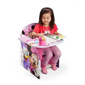 Disney's Minnie Mouse Chair Desk With Storage Bin by Delta Children