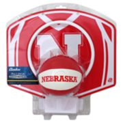 Nebraska Cornhuskers Mini Basketball Hoop & Ball Set