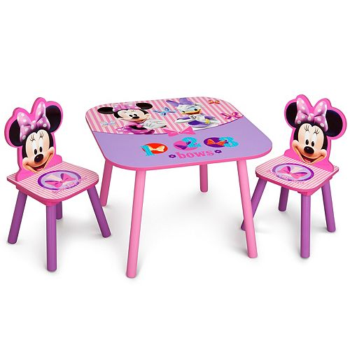 Disney's Minnie Mouse Table & Chairs Set by Delta Children