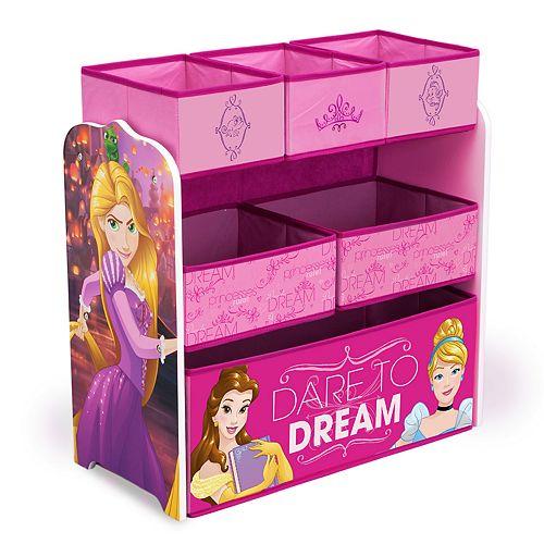 Disney Princess Multi-Bin Toy Organizer by Delta Children
