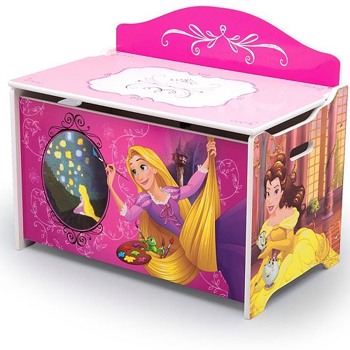Disney Princess Deluxe Toy Box by Delta Children