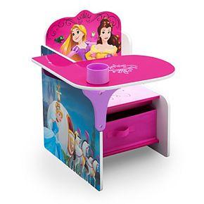 Disney Princess Chair Desk With Storage Bin by Delta Children