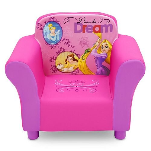 Disney Princess Upholstered Chair by Delta Children