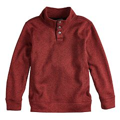 Boys 4-12 SONOMA Goods for Life™ Pullover Mock Neck Sweater