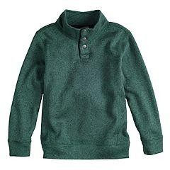 Boys 4-12 SONOMA Goods for Life™ Pullover Mock Neck Sweater