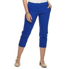 079aeea0c62 Womens Blue Apt. 9 Crops   Capris - Bottoms