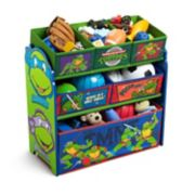 Delta Children Teenage Mutant Ninja Turtles Multi-Bin Toy Organizer