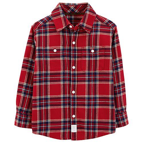 Baby Boy Carter's Plaid Button Down Shirt