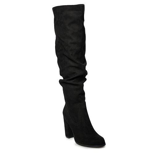 madden NYC Claudiia Women's High Heel Tall Slouch Boots