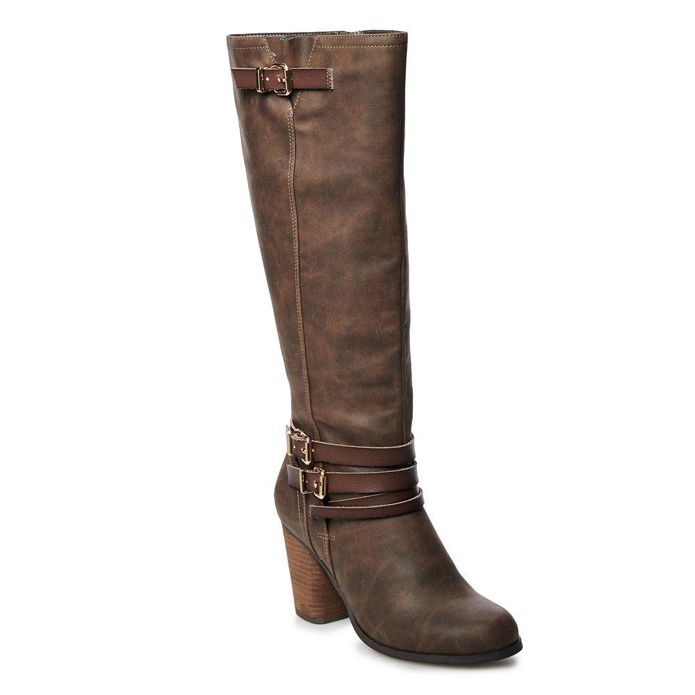 madden NYC Dancy Women's High Heel Tall Boots
