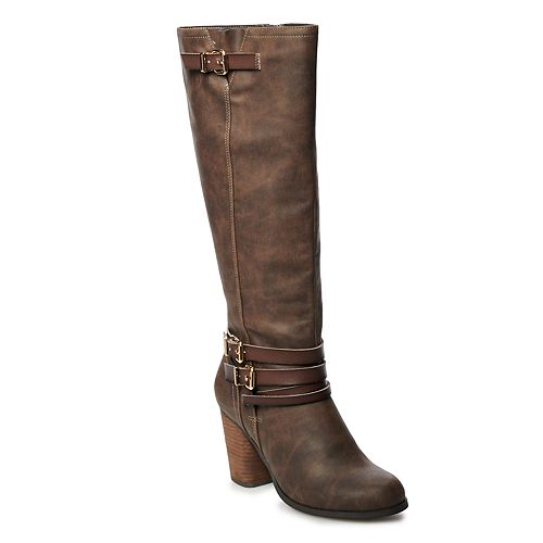 madden NYC Dancy Women's High Heel Tall Boots