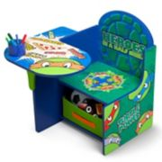Delta Children Teenage Mutant Ninja Turtles Chair Desk With Storage Bin