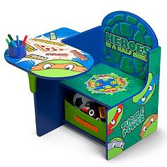 Delta Children Teenage Mutant Ninja Turtles Chair Desk With Storage Bin