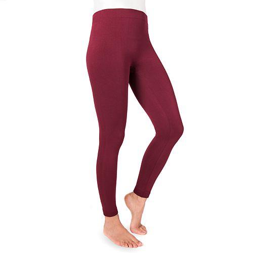 Women's MUK LUKS Fleece-Lined Leggings