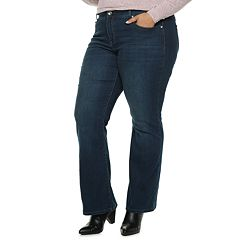 Plus Size Apt. 9® Embellished MidRise Bootcut Jeans
