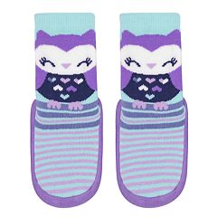 Baby / Toddler Girl Jumping Beans® Owl Slipper Socks