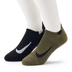 Men's Nike 2-pack Multiplier No-Show Socks