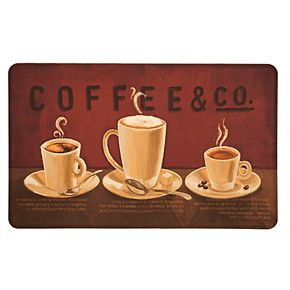 "Mohawk® Home ""Coffee & Co."" Kitchen Mat"