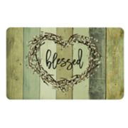 "Mohawk® Home Wood Look ""Blessed"" Kitchen Mat"