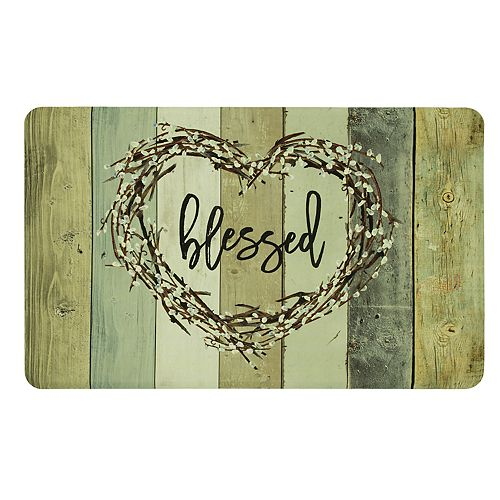 """Mohawk® Home Wood Look """"Blessed"""" Kitchen Mat"""