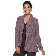 Women's Dana Buchman Print Knit Blazer