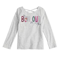 Disney's Fancy Nancy Toddler Girl 'Bonjour' Glittery Graphic Tee by Jumping Beans®