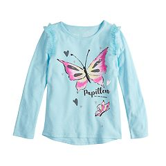 Disney's Fancy Nancy Girls 4-10 Glittery Butterfly Graphic Tee by Jumping Beans®