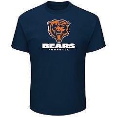 Big & Tall Chicago Bears Team Color Tee