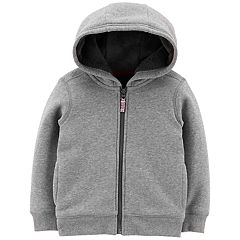 Baby Boy Carter's Velboa Lined Hoodie