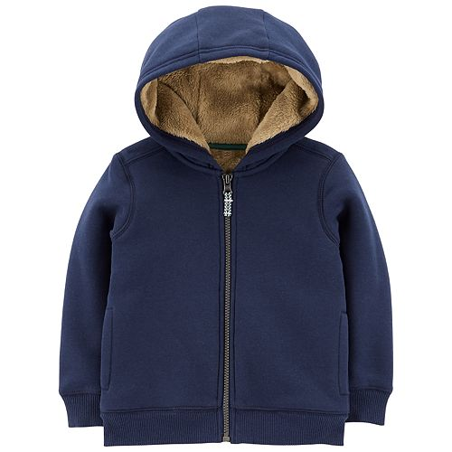 low priced b2cd0 d4465 Baby Boy Carter s Velboa Lined Hoodie