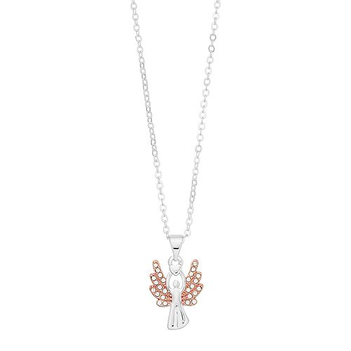 Brilliance Angel Necklace with Swarovski Crystals