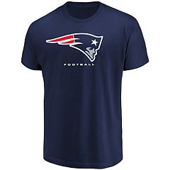 Big & Tall New England Patriots Team Color Tee