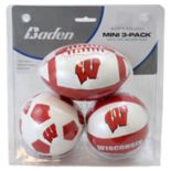 Baden Wisconsin Badgers 3-Pack Mini Ball Set