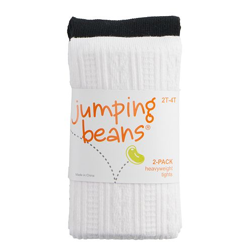 Baby / Toddler Girl Jumping Beans® 2-pack Heavyweight Tights
