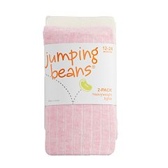 Baby / Toddler Girl Jumping Beans® 2-pack Heavyweight Ribbed Tights