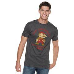 Men's Nintendo Mario Tee