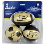 Baden Purdue Boilermakers 3-Pack Mini Ball Set