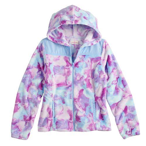 Girls 7-16 SO® Sherpa High Pile Hooded Jacket