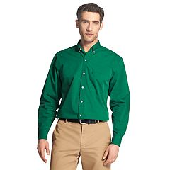 Men's IZOD Premium Essentials Slim-Fit Stretch Button-Down Shirt