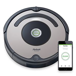 iRobot Roomba 677 Wi-Fi Connected Robotic Vacuum