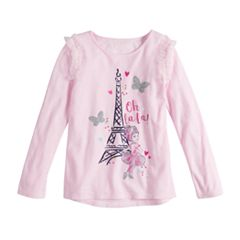 Disney's Fancy Nancy Toddler Girl Eiffel Tower 'Oh La La' Graphic Tee by Jumping Beans®