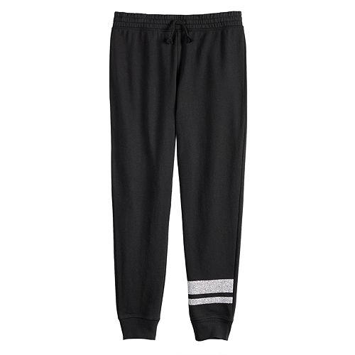 Girls 7-16 & Plus Size SO® Fleece Jogger Leggings