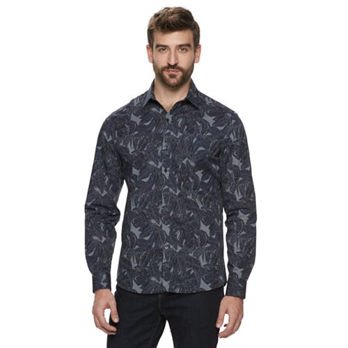 Men's Marc Anthony Long Sleeve Casual Shirt
