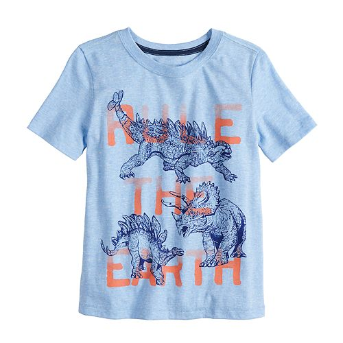"""Boys 4-12 SONOMA Goods for Life™ Dinosaurs """"Rule The Earth"""" Graphic Tee"""